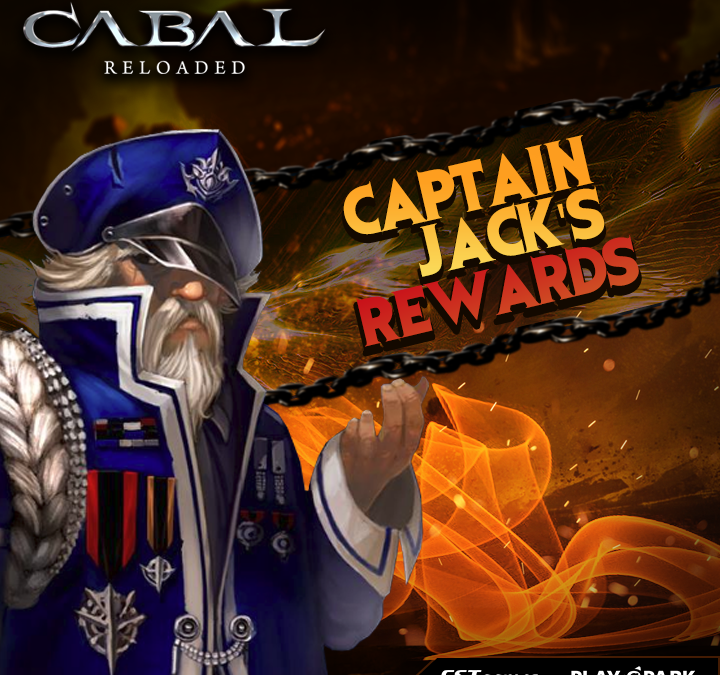 Captain Jack is Back ! (Biggest Spender Rewards)