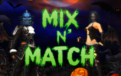 Cabaloween Mix N' Match