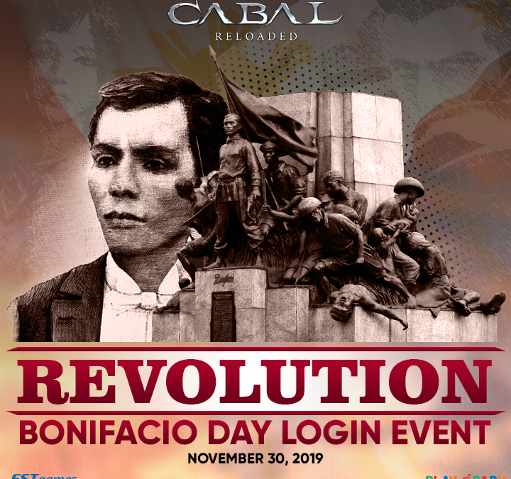 REVOLUTION Bonifacio Day Login Event