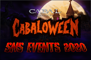 CABALoween SNS Events 2020