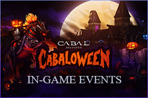 CABALoween In-game Events 2020